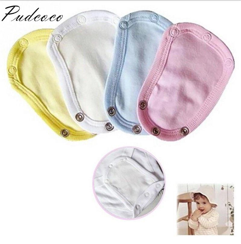 Pudcoco 2019 Brand New  Baby Partner Bodysuit Jumpsuit Romper Extend Diaper Butt Pocket Cover Underwear