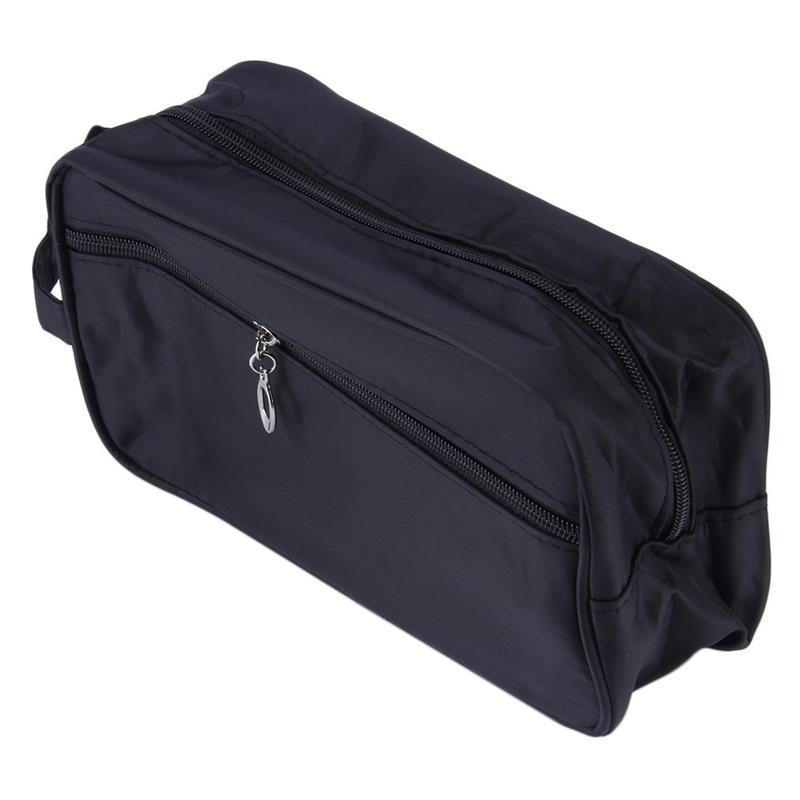 Unisex Necessaries Organizer Storage Bag Women Men Travel Cosmetic Bag Portable Black Makeup Case Pouch Male Toiletry Bag