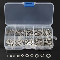 300Pcs 304 Stainless Steel Spring Washer M2 M6 W/Case Assortment For Sump Plugs|Washers| |  -