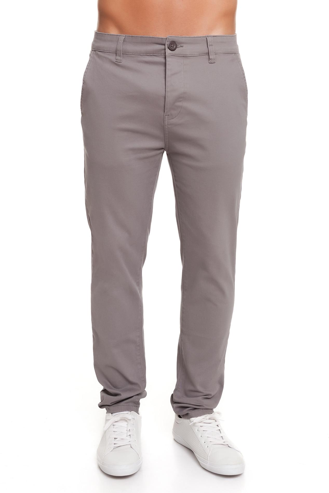 Crosshatch Hombre Pantalon Chino 2019 CH2B112040CG2STK Moda Fashion Gris