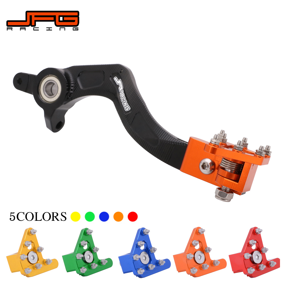 Motorcycle CNC Aluminum Rear Foot Brake Pedal Lever For KTM SX XC XCW XCF XCFW EXC