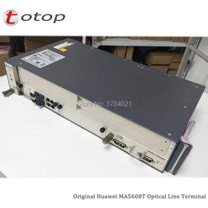 Image 1 - Expédition par DHL Huawei MA5608T GPON OLT avec 1 * MCUD 1G + 1 * carte dalimentation cc MPWC, Terminal de ligne optique MA5608T