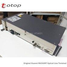 Trasporto libero da DHL Huawei MA5608T GPON OLT con 1 * MCUD 1G + 1 * MPWC DC Scheda di Potenza, MA5608T Optical Line Terminal