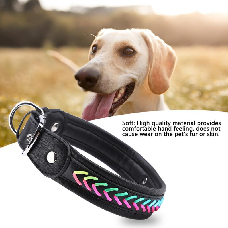 c348de86d243 Personalized dog collar Custom Puppy Cat Nameplate ID Collars Adjustable  Dog Collar Pet Accessories For Medium Large Dogs-in Collars from Home &  Garden on ...