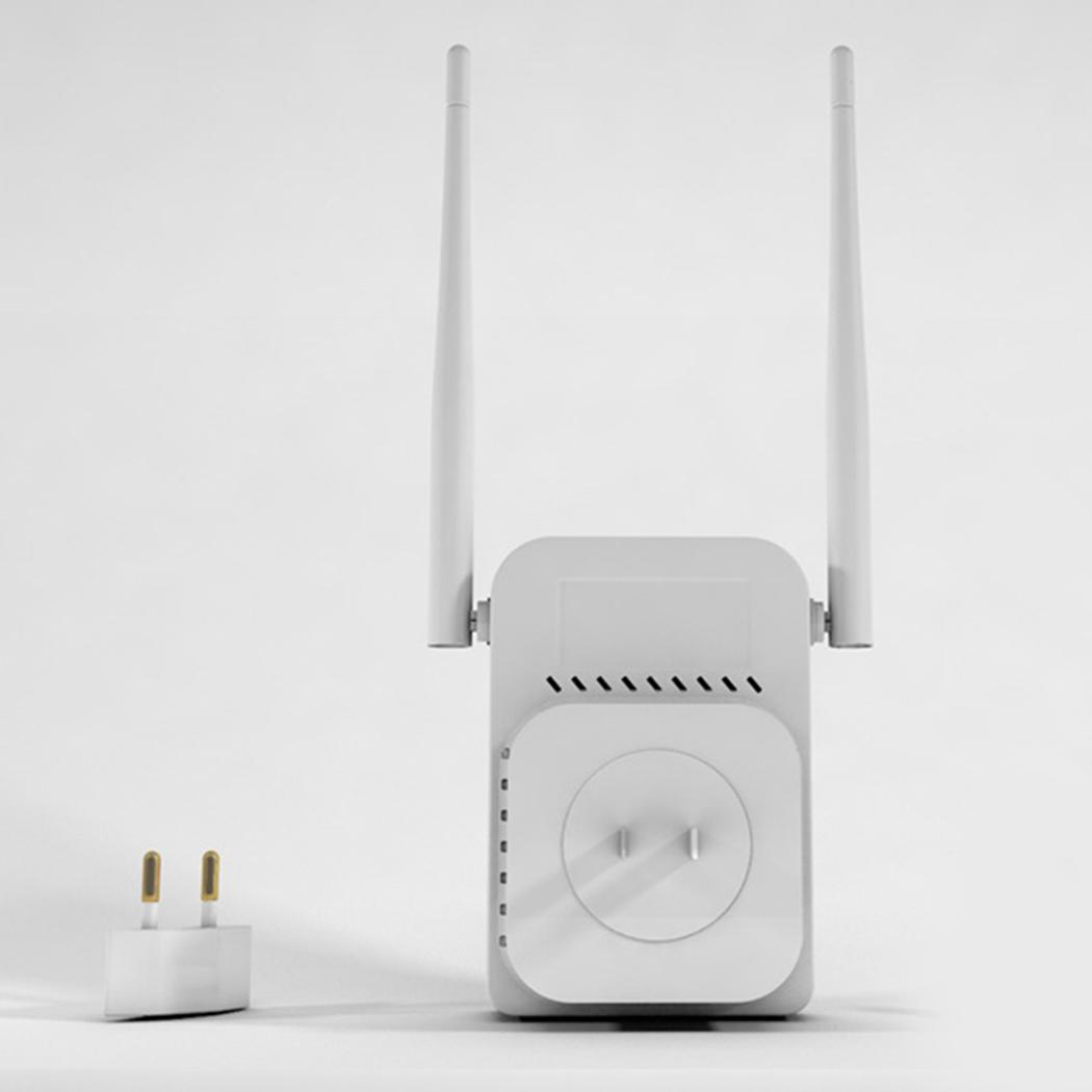 300Mbps Wireless WiFi Repeater Signal Amplifier 110V- 230V IEEE 802.11b/g/n White Wifi Up To Range Extender