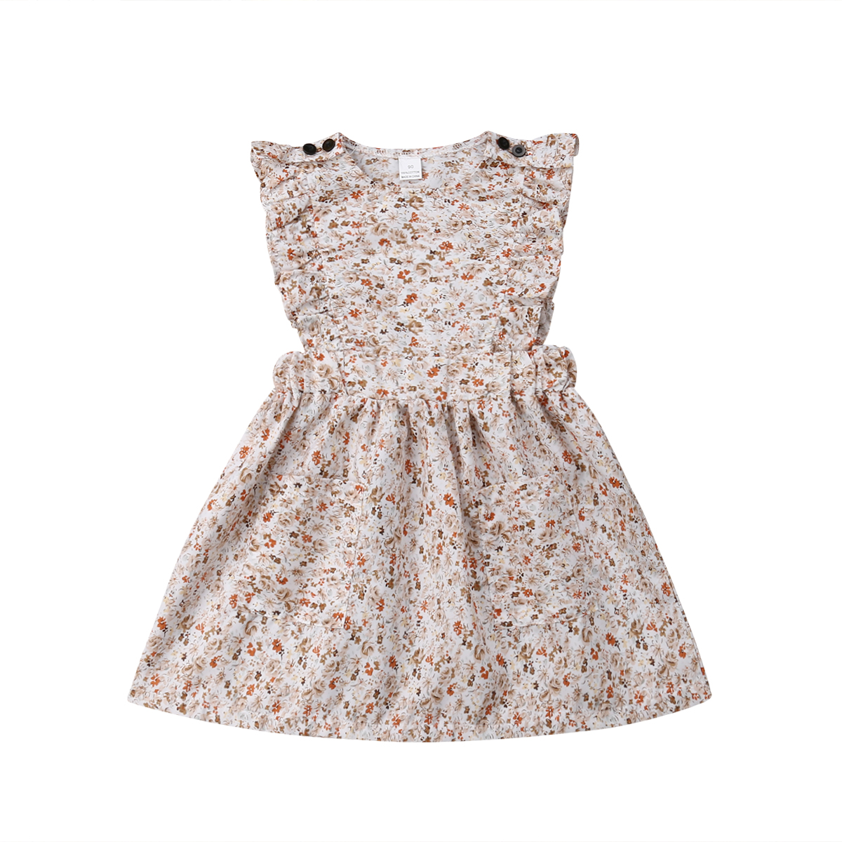 b453014d5df7a4 2019 Canis Family Matching Outfits Summer Newborn Baby Girl Sister Clothes  Floral Dress Romper Jumpsuit ~ Best Seller July 2019