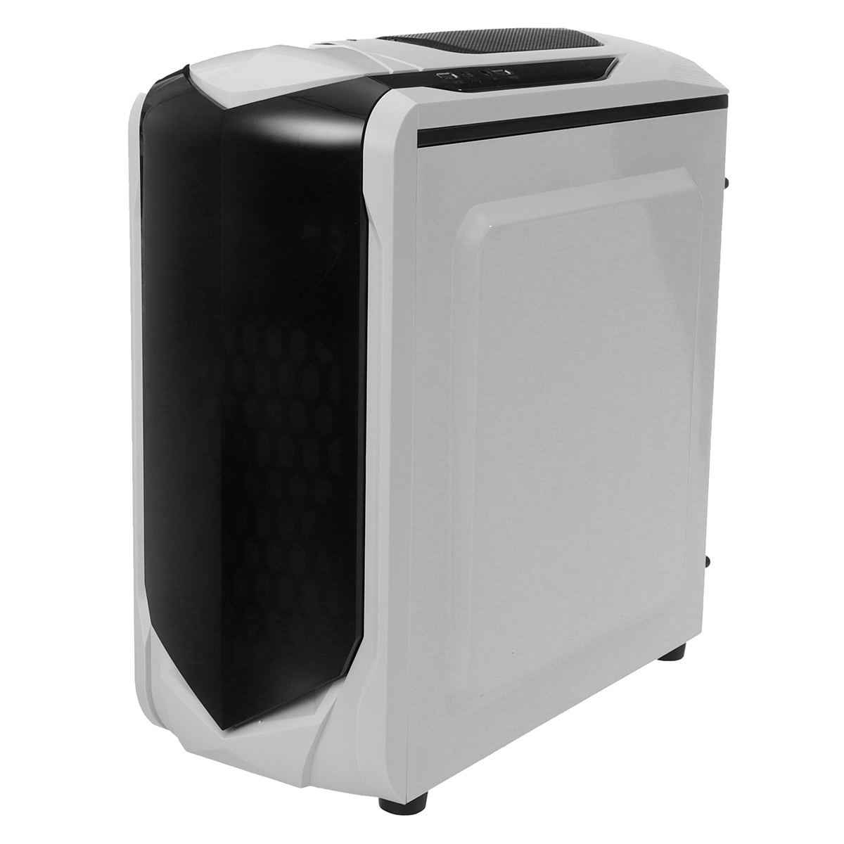 LEORY 375X185X380mm Transparant Side Panel Micro ATX Desktop PC Computer PC Case Ondersteuning 180mm brede CPU Radiator