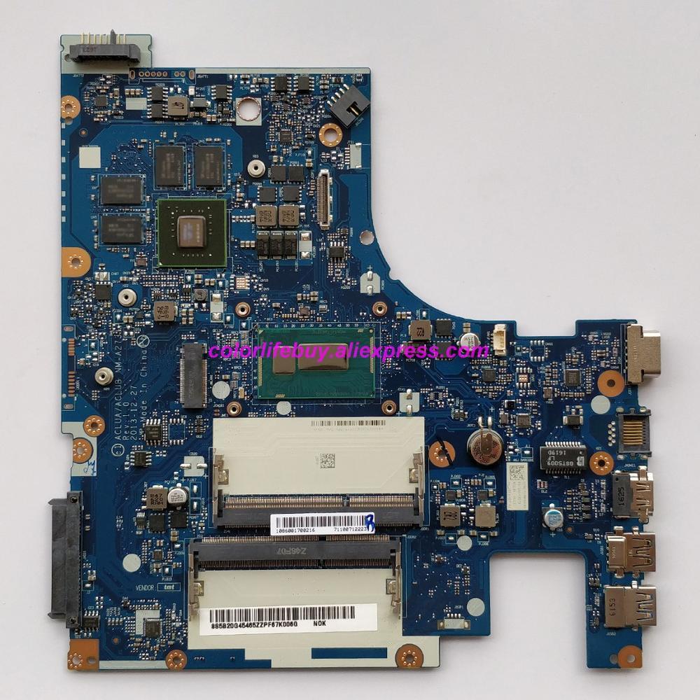 מפתחות ושלטים 5B20G45465 ACLUA / ACLUB NM-A273 אמיתי w Mainboard האם מחשב נייד SR1EB I7-4510U GT840M / 4GB עבור מחשב נייד Lenovo Z50-70 (1)