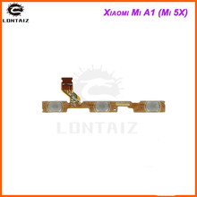 for Xiaomi Mi A1 Power Volume Flex Cable Side Key Button On Off Switch Flex Cable for Xiaomi Mi 5X Repair Spare Parts repair parts replacement left right button volume flex cable set for psp go black green