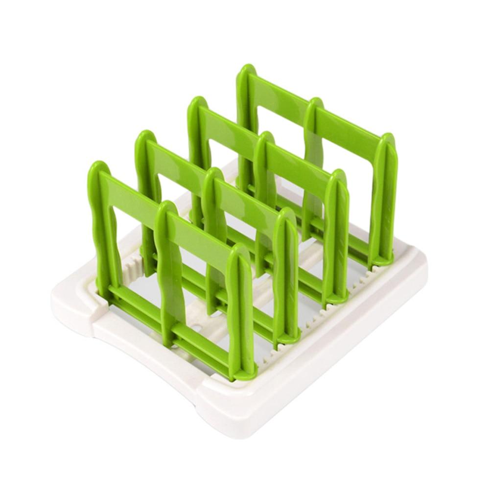 Multifunctional Durable Creative Cutting Board Storage Rack Pot Lids Holder Kitchen Supplies Gadgets For Restaurant