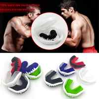 Mouth Protector Mouthguard Teeth Protect Shield Muay Thai Boxing Rugby Fight Basketball Soccer Teeth Guard Orthodontic Retainer