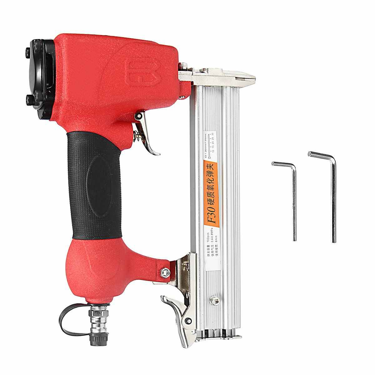 Draadloze Elektrische Nagelpistool Lucht Nagelpistool Nietje Guns Straight Nail 10-30mm Houtbewerking Framing Gereedschap Power Tools Huis Renovatie
