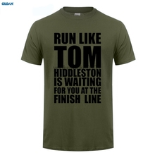 GILDAN  Movie Shirt Crew Neck Men Graphic Short Sleeve Runer Like Tom Hiddleston T Shirts