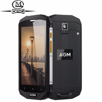 AGM A8 IP68 Waterproof shockproof Mobile Phone Android 7.0 4GB+64GB Qualcomm MSM8916 Quad Core 4050mAh NFC OTG 4G LTE Smartphone