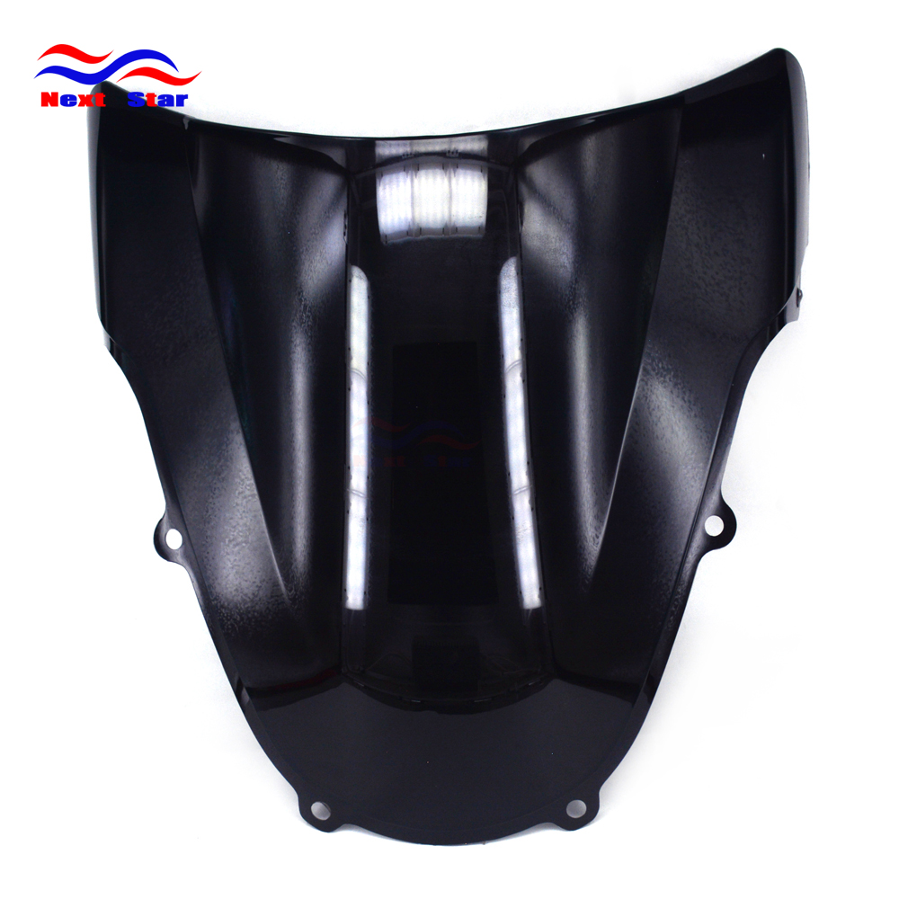 Motorcycle ABS Black Windshield Windscreen For <font><b>SUZUKI</b></font> GSXR600 GSXR750 K1 2001 <font><b>2002</b></font> 2003 GSXR1000 2001-<font><b>2002</b></font> <font><b>GSXR</b></font> 600 750 <font><b>1000</b></font> image