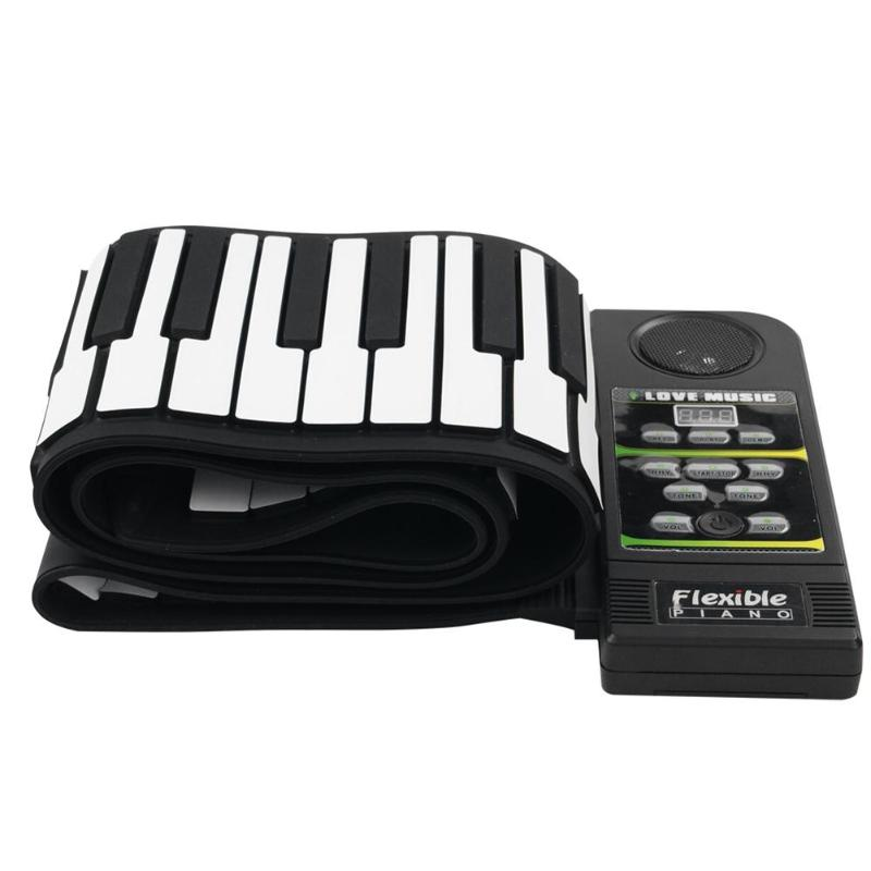 Image 5 - Portable 49/88 Keys Roll Up Piano Flexible Silicone Roll Up Folding Piano Keyboard for Child Student Musical Instruments-in Piano from Sports & Entertainment