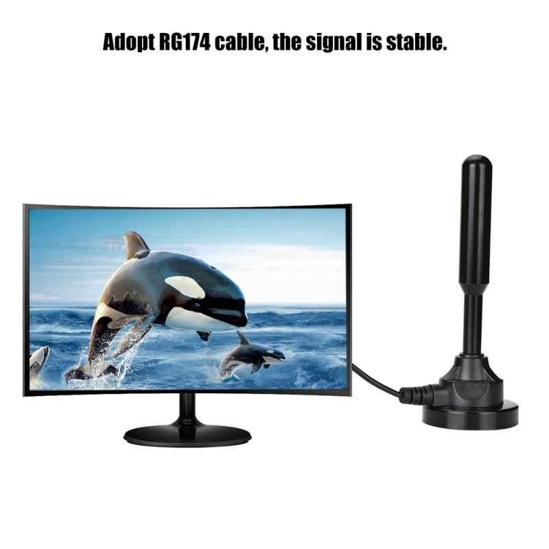 MCX головы DVB-T2 цифровой Freeview Indoor HD ТВ присоски телевизионные антенны для USB тюнер