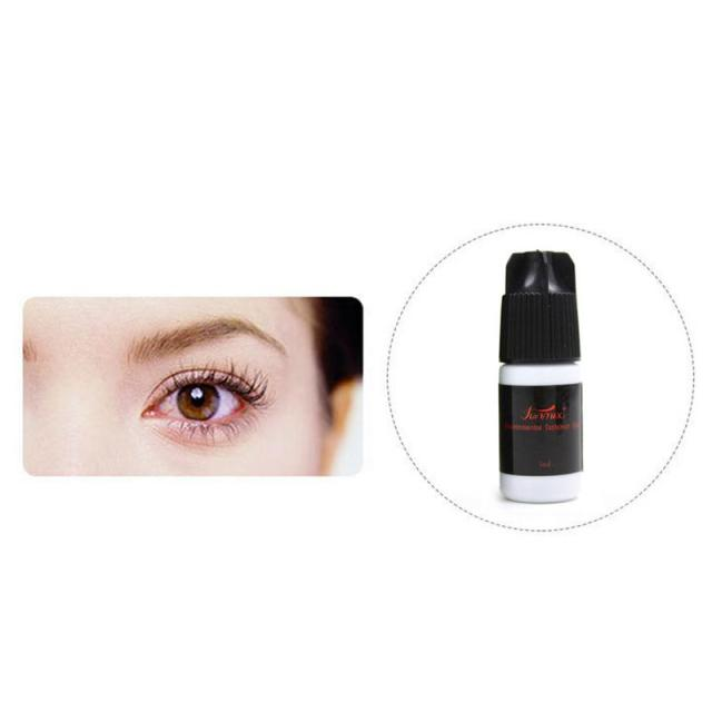 Fast Drying Eyelash Glue No Odor No Irritation Lasting Makeup Waterproof False Lashes Extension Adhesive Black Strong Sticky 5