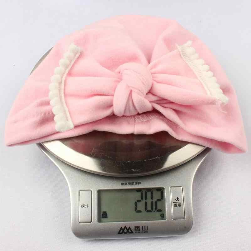 Милая шляпка для девочки Цвет девочек шляпа с бантом Детское хлопковое вечернее платье в горошек, 15F шапка детская шапка для малышей enfant осень bebe
