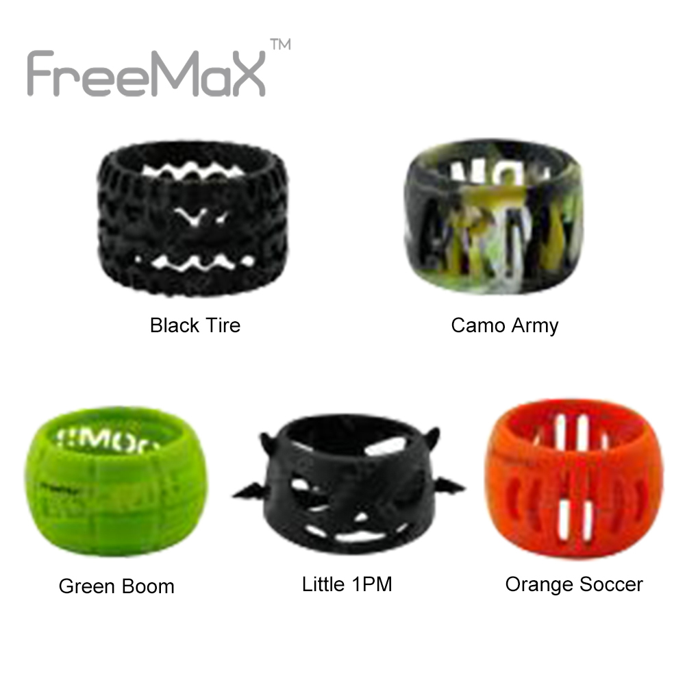 Original 1pc Freemax Silicone Decorative Ring for 24mm Tank Made of High Quality Silicone Fit Freemax Fireluke Mesh/ Twister KitOriginal 1pc Freemax Silicone Decorative Ring for 24mm Tank Made of High Quality Silicone Fit Freemax Fireluke Mesh/ Twister Kit