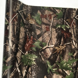 Image 3 - 50*200cm Camouflage Car Wrap Real Camo Tree Vinyl Break up Jumbo Leaf Graphic PVC Car Styling Sticker Film Golf Cart Truck
