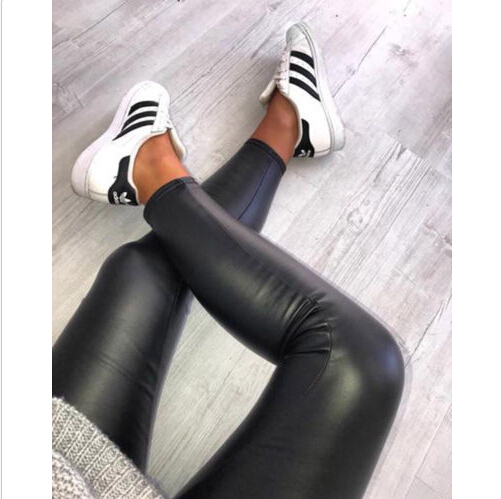 Newest Women High Waist Skinny   Pants   Stretchy Pencil Long Slim Trousers Leggings Ladies Autumn Sexy Fashion   Pants   2019