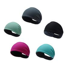 Solid Color Non-Slip Yoga Hair Band For Men And Women Outdoor Hiking Running Fitness Accessories Sweat-Absorbent Headband