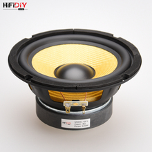 "HIFIDIY LIVE HIFI speakers DIY 6 inch 6.5"" Midbass Woofer speaker Unit 4 8 OHM 120W Glass fiber vibratory basin Loudspeaker K6.5"