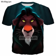 Movie The Lion King 3D Print Casual Tshirt Men/women Hiphop Streetwear T shirt Boy Cool Hipster T-shirt Clothes Oversized 5XL hot sale luxury rhinestone gold watch women watches leather strap ladies watch clock lady hour montre femme relogio feminino