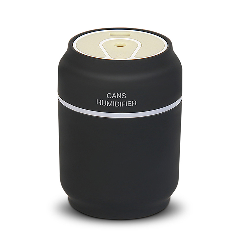 EAS-3 In 1 USB 7 Color LED Ultrasonic Air Cans Fan Humidifier Essential Spray Aroma Oil SprayDiffuser