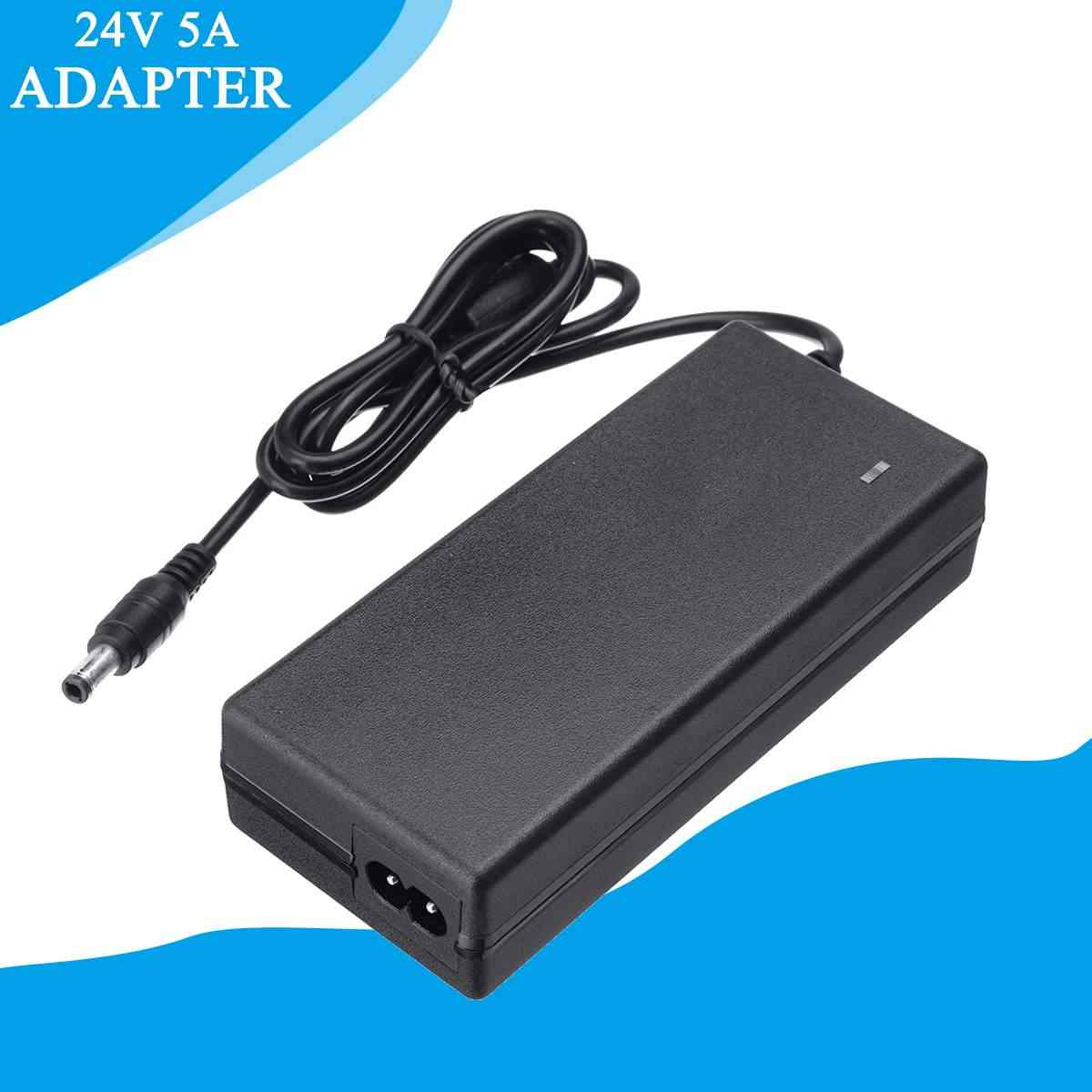 LEORY 24V 5A Power Lead-Acid Battery Adapter For Mobility Electric Scooter Wheelchair Golf Cart Battery Charger Smart Charger
