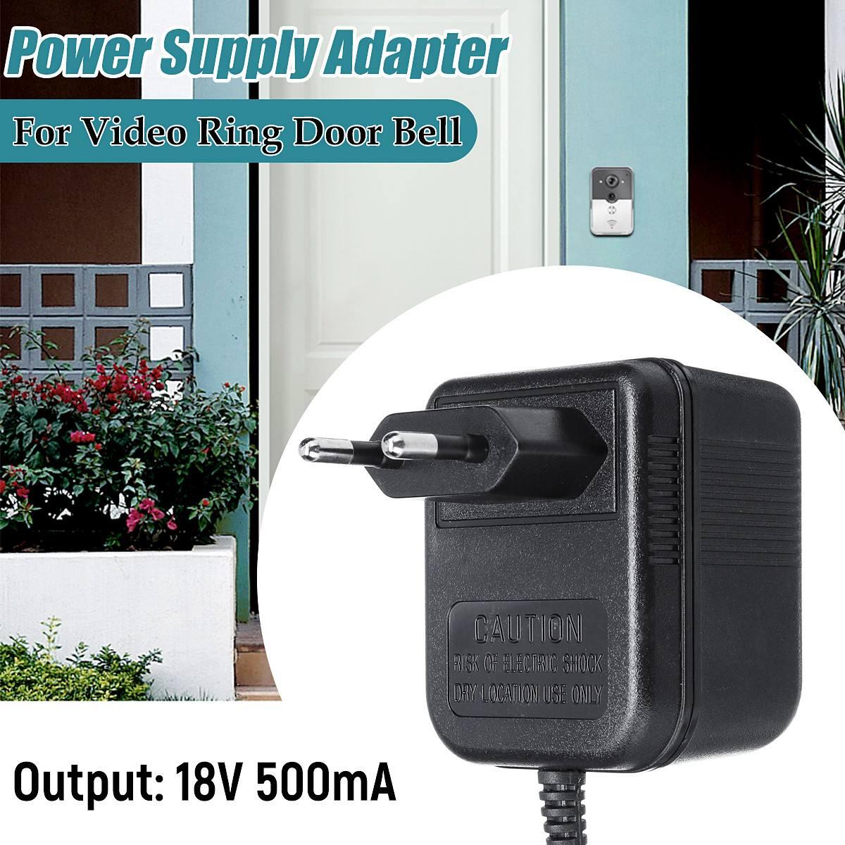 18V AC Transformer Wifi Doorbell Camera Power Adapter for IP Video Intercom Ring Wireless Doorbell 230V Converter Adapter EU18V AC Transformer Wifi Doorbell Camera Power Adapter for IP Video Intercom Ring Wireless Doorbell 230V Converter Adapter EU