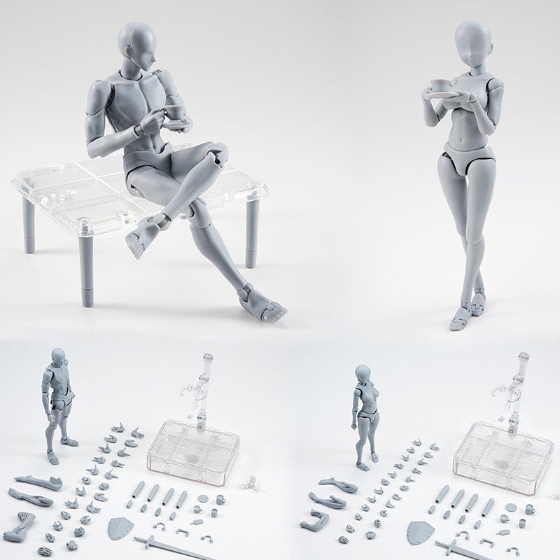 PVC Figure Lol-Toys Assembling Action-Art-Model Draw Artist Early-Education Baby Creativity