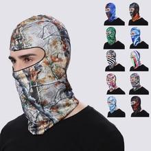 Мотоцикл Балаклава мотоциклетная маска для защиты лица Лыжная маска дышащая анти-УФ головной убор мотокросса спортивная повязка на голову Лыжная полная маска для лица