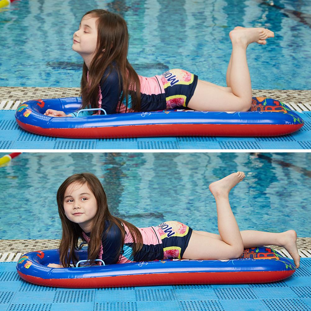 Air Mattress Swimming Ring Beach Inflatable Float Ring Cushion Bed Lounge Chair Mattress Hammock Water Sports Kids Floating Toys