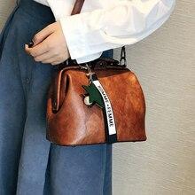 3 Ways Usage Female Doctor Crossbody Handbag Women Handbag Leather Shoulder Bag Star Pendant Tassel Rivets Casual Famous Brand все цены