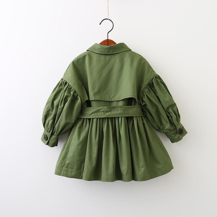 spring girl jackets girls outerwear coats green kids jacket toddler baby clothes fashion kids clothes in Jackets Coats from Mother Kids
