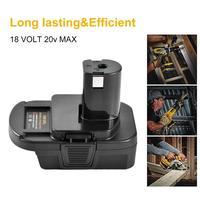 DM18RL 18 V/20 V Konverter Nickel Elektrische Und Lithium-USB Batterie Ladegerät Werkzeug Adapter