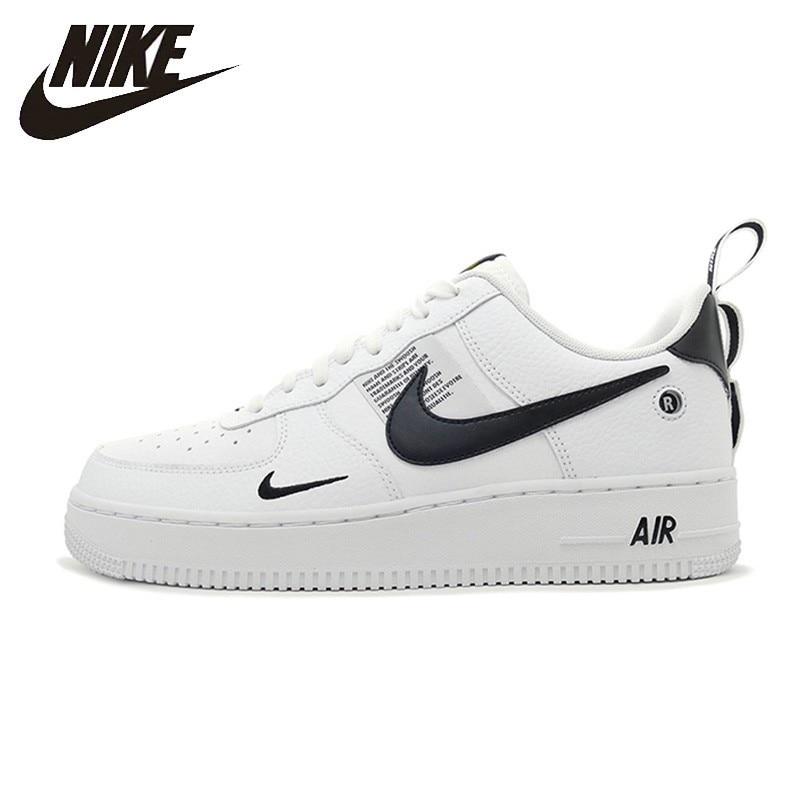 Nike Ufficiale Air Force 1 Traspirante Utility Uomini Runningg Scarpe Basse Comode Scarpe Da Ginnastica di Nuovo Arrivo # AJ7747