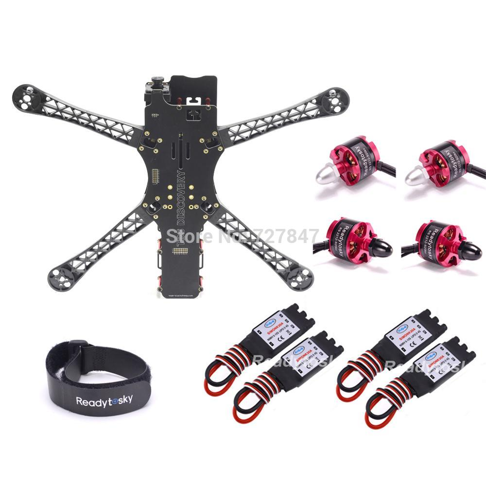 FPV Quadrocopter X500 500 500 V2 Alien Frame 500mm 2212 920KV Motor 30a Simonk Brushless esc