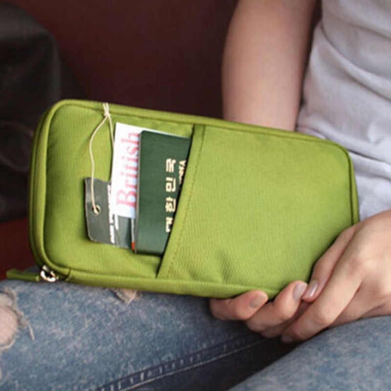 Sıcak cüzdan Seyahat Pasaport Kredi KIMLIK Kartı Nakit Tutucu Case Belge çanta düzenleyici cüzdan Kılıf Çanta Kart Sahipleri