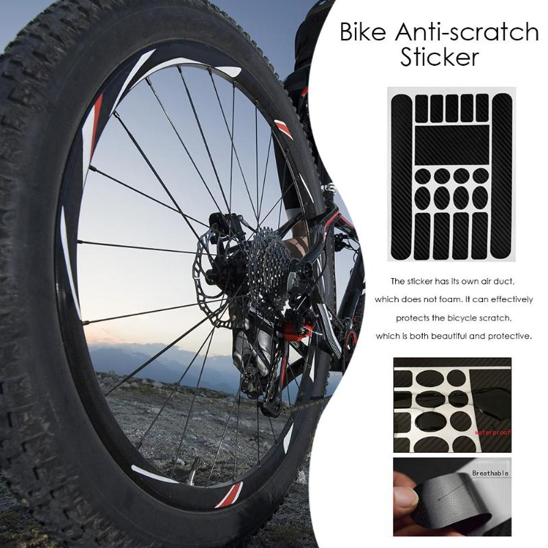 Balight MTB Mountain Bike Scratch Resistant Frame Protector Removable Sticker Road Bike Paster 1 PCS