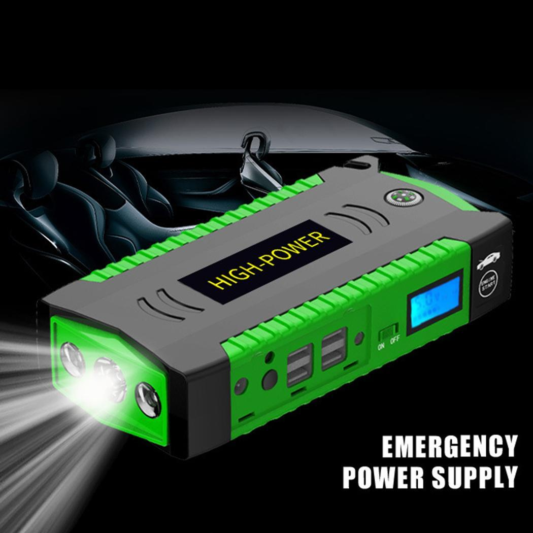 Portable Car Battery Charger Booster Starting Device Car Emergency Start 6 L Gasoline car,4 L Diesel car PowerPortable Car Battery Charger Booster Starting Device Car Emergency Start 6 L Gasoline car,4 L Diesel car Power