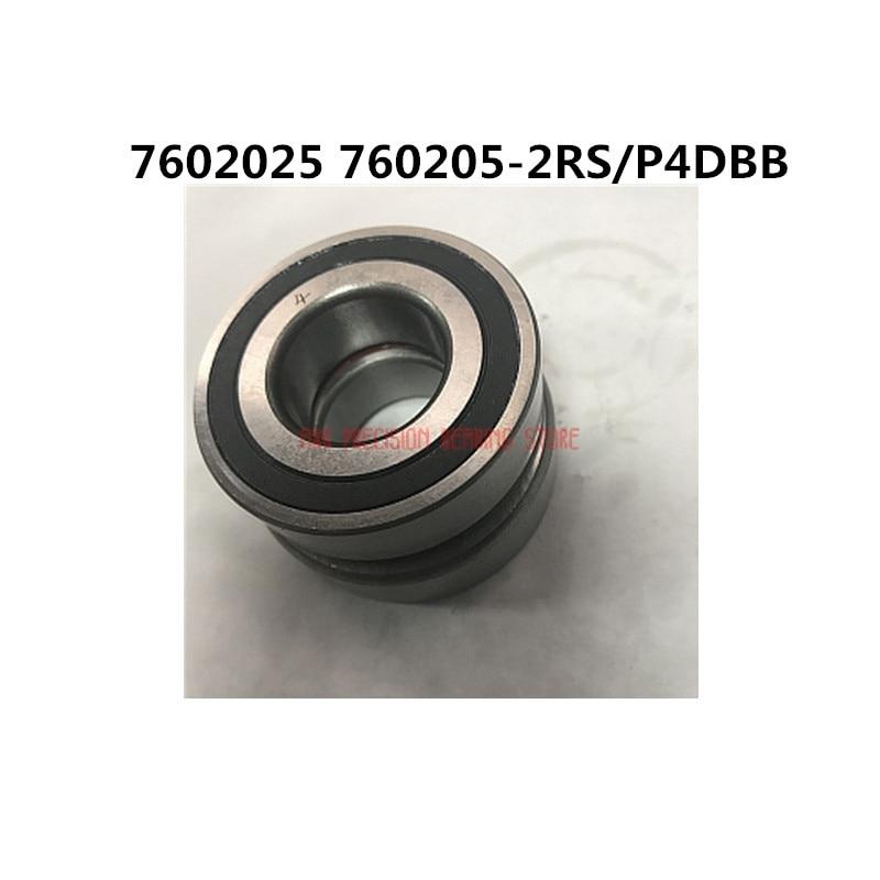 2019 vente limitée une paire de 7602025 760205-2rs/p4dbb précision Machine-outil Contact oblique assorti roulement vis Rodamientos
