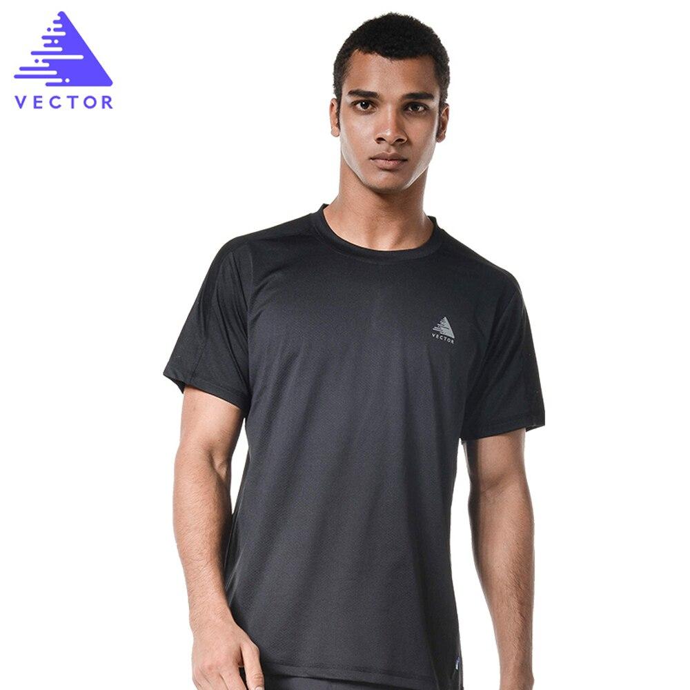 VECTOR Profesionální běžecká trička Pánská dámská krátký - Sportovní oblečení a doplňky