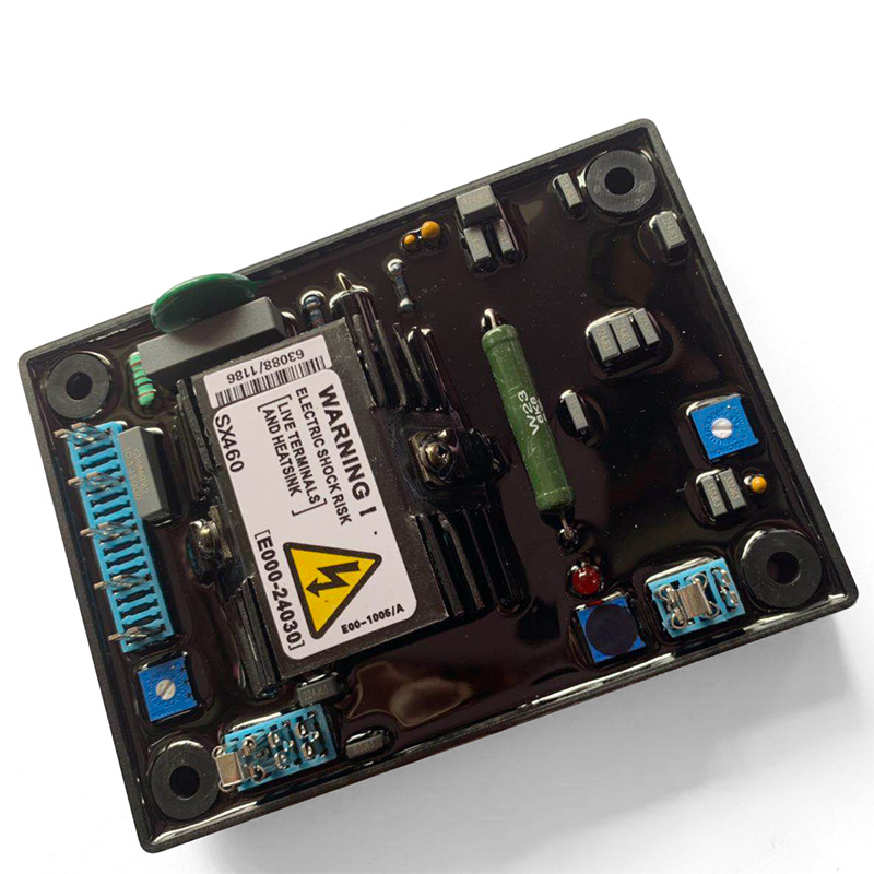 Automatic Voltage Regulator AVR SX460 for Generator SX460    all parts made in ChinaAutomatic Voltage Regulator AVR SX460 for Generator SX460    all parts made in China