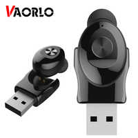 U12 Mini Bluetooth Earphone Single Sport Wireless Stereo Headset Portable Invisible In-Ear Business Earbud USB Magnetic Charger