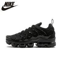 Nike Air VaporMax плюс оригинальный Новое поступление для мужчин кроссовки дышащие кроссовки уличные #924453 004