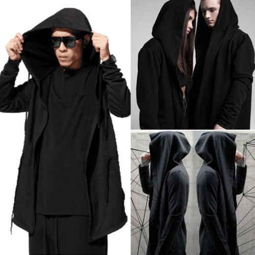 9364f5d2797 2019 брендовый черный Тренч для мужчин модное пальто с длинным рукавом с  капюшоном плащ куртка повседневный