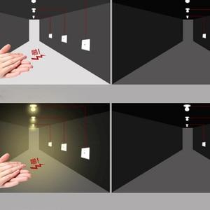 Image 5 - ניו החכמה קיר הר חכם קול בקרת אור חיישן מתג צליל & אור נשלט מכירה לוהטת עיכוב מתג